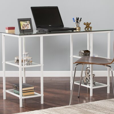 ebern designs saundra writing desk reviews wayfair - Designer Writing Desk