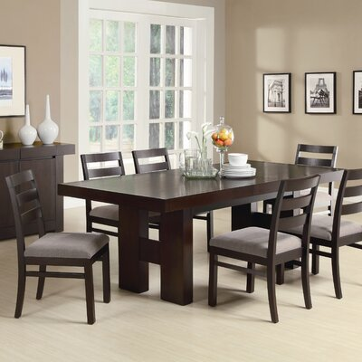 Wade Logan Duane 7 Piece Dining Set