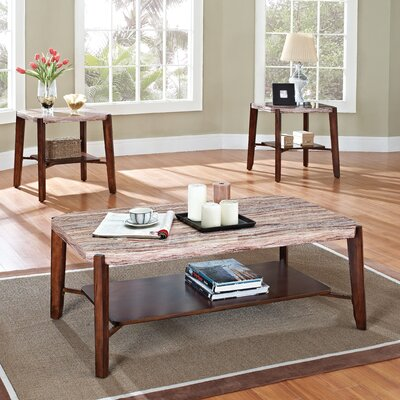 ACME Furniture Nadav 3 Piece Coffee Table Set