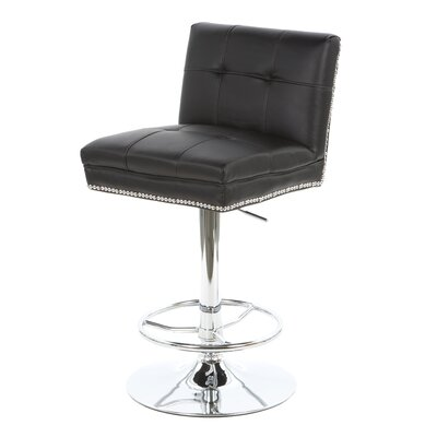 Wildon Home ® Groom Adjustable Height Swivel Ba..