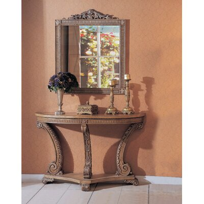 Wildon Home ® Barbados Console Table with Mirror