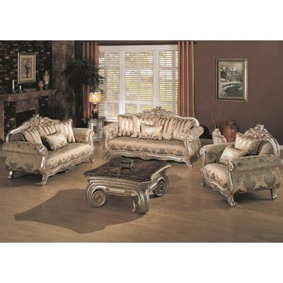 Wildon Home ® Victory Coffee Table Set
