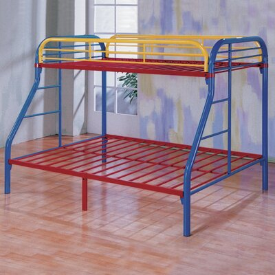Wildon Home ® Sade Twin over Full Bunk Bed