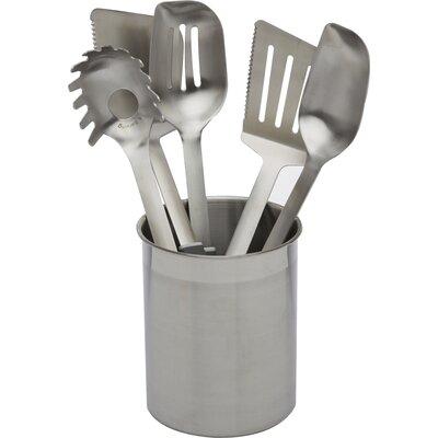 calphalon stainless steel utensils 6 piece utensil set u0026 reviews wayfair