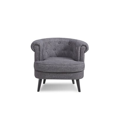 Three Posts Cobblestone Barrel Chair