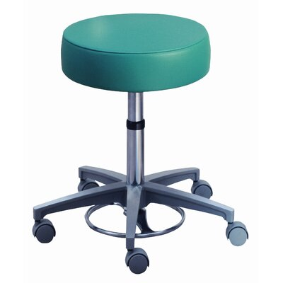 Brewer Millennium Series Surgeon's Round Seat Stool with Locking Casters