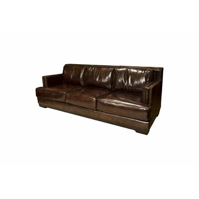 Elements Fine Home Furnishings Emerson Leather Sofa