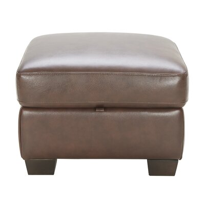 Darby Home Co Kennelly Leather Ottoman