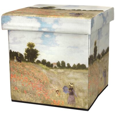 Oriental Furniture Monet Poppies Stora..