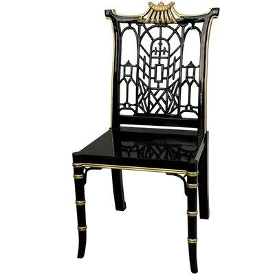 Oriental Furniture Pagoda Side Chair
