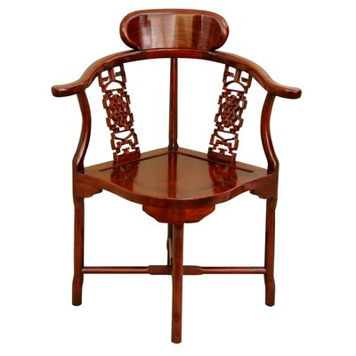 Oriental Furniture Corner Arm Chair