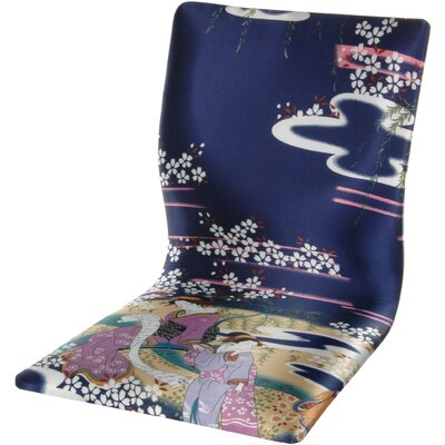 Oriental Furniture Tatami Indigo Geisha M..