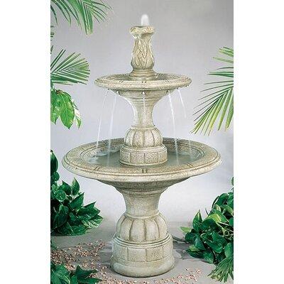 henri studio tiered concrete small waterfall fountain u0026 reviews wayfair - Waterfall Fountain