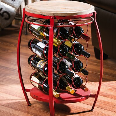 Evergreen Enterprises, Inc 12 Bottle Floor Wine Rack