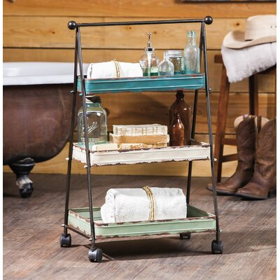 Evergreen Enterprises, Inc 3 Tier Serving Cart