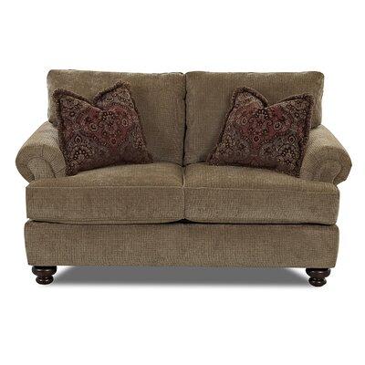 Klaussner Furniture Cross Loveseat