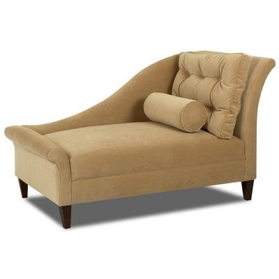 Klaussner furniture park right arm facing chaise lounge for Chaise description