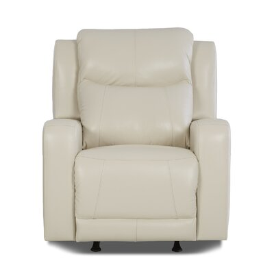 Your Klaussner Furniture Barnett Recliner With Headrest And Lumbar Support Re