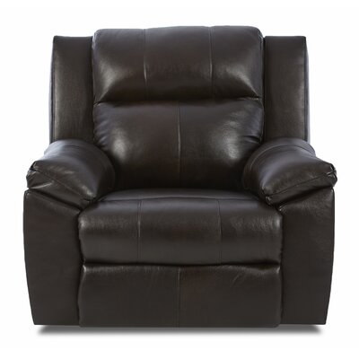 Klaussner Furniture Ridley Recliner with Headrest and Lumbar Support