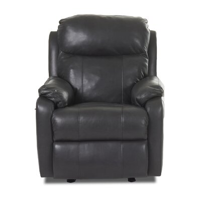 Klaussner Furniture Solitaire Recliner with Foam Seat cushion