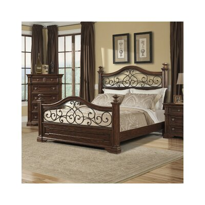 Klaussner Furniture Harris Panel Bed