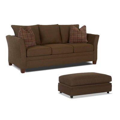 Klaussner Furniture Ella Storage Ottoman