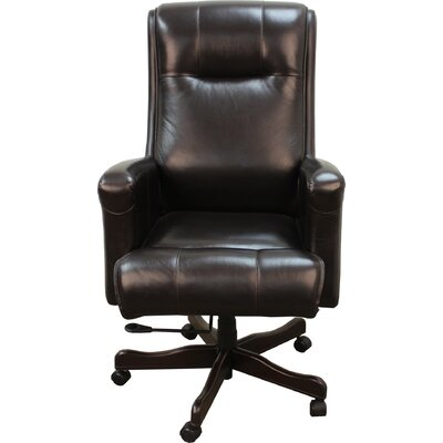 Parker House Furniture High-Back Executive Leather Executive Chair