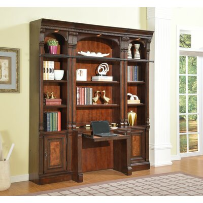 Astoria Grand Ramsey 4-Piece Library Wall