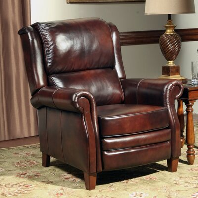Red Barrel Studio Corliss Leather Recliner