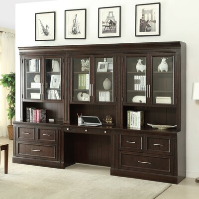 Astoria Grand Villanova Desk and File Wall
