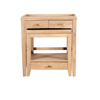 Wildon Home ® Claudia 2-Piece Nesting Tables