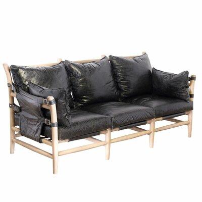 Wildon Home ® O'Keeffe Leather Sofa
