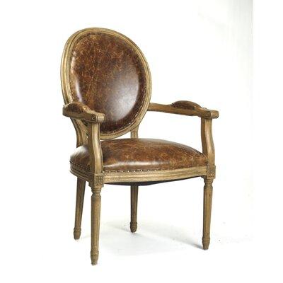 Zentique Inc. Medallion Arm Chair