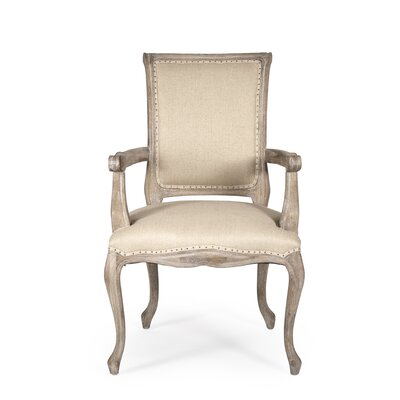 Zentique Inc. Dijon Fabric Arm Chair