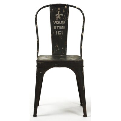 Zentique Inc. Christelle Iron Side Chair