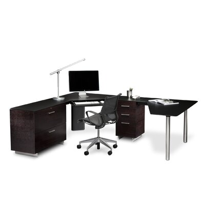 BDI Sequel Corner Computer Desk Group