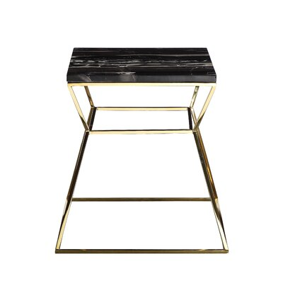 Pangea Home Geo End Table