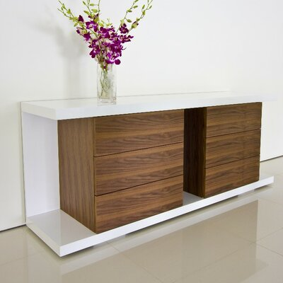 Pangea Home Thite Sideboard & Reviews