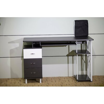 Merax Computer Desk with Cabinet and Drawer