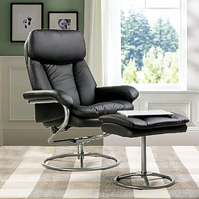 Merax Recliner and Ottoman