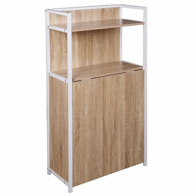 Merax Writing Desk with Bookcase