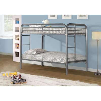 Monarch Specialties Inc. Twin Futon Bunk Bed
