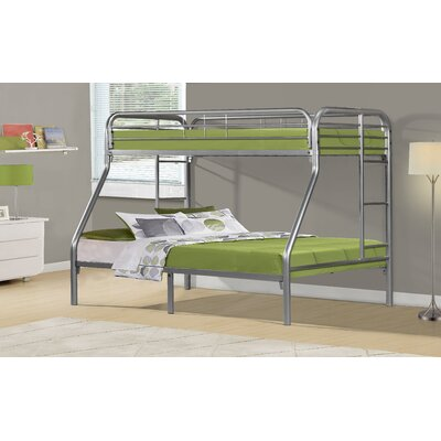 Monarch Specialties Inc. Twin over Full Futon Bunk Bed