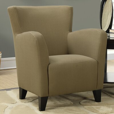 Monarch Specialties Inc. Linen Arm Chair