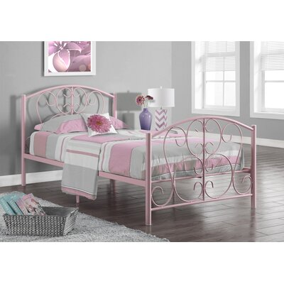 Monarch Specialties Inc. Twin Panel Bed
