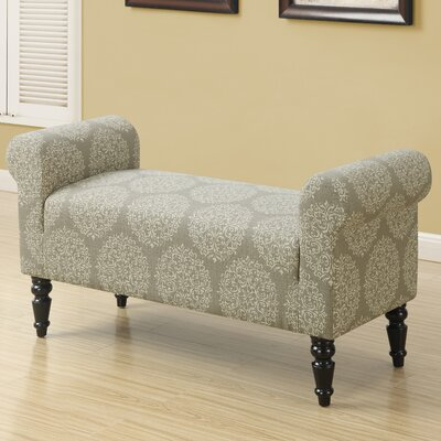 Monarch Specialties Inc. Taupe Fabric Bench