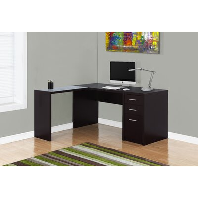 Monarch Specialties Inc. Computer Desk with 3 Drawers