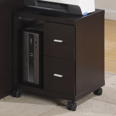 Monarch Specialties Inc. 2-Drawer Mobile ..