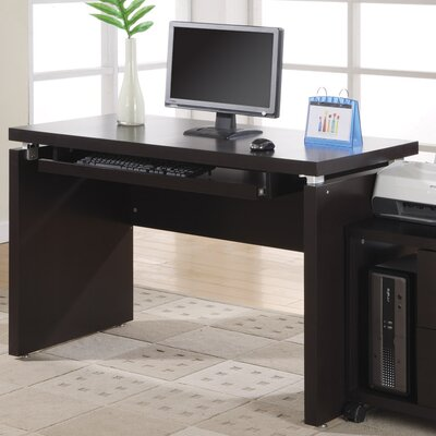Monarch Specialties Inc. Computer Desk with Pull-Out Keyboard Tray