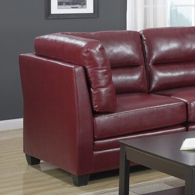 Monarch Specialties Inc. Leather Corner Unit Ot..